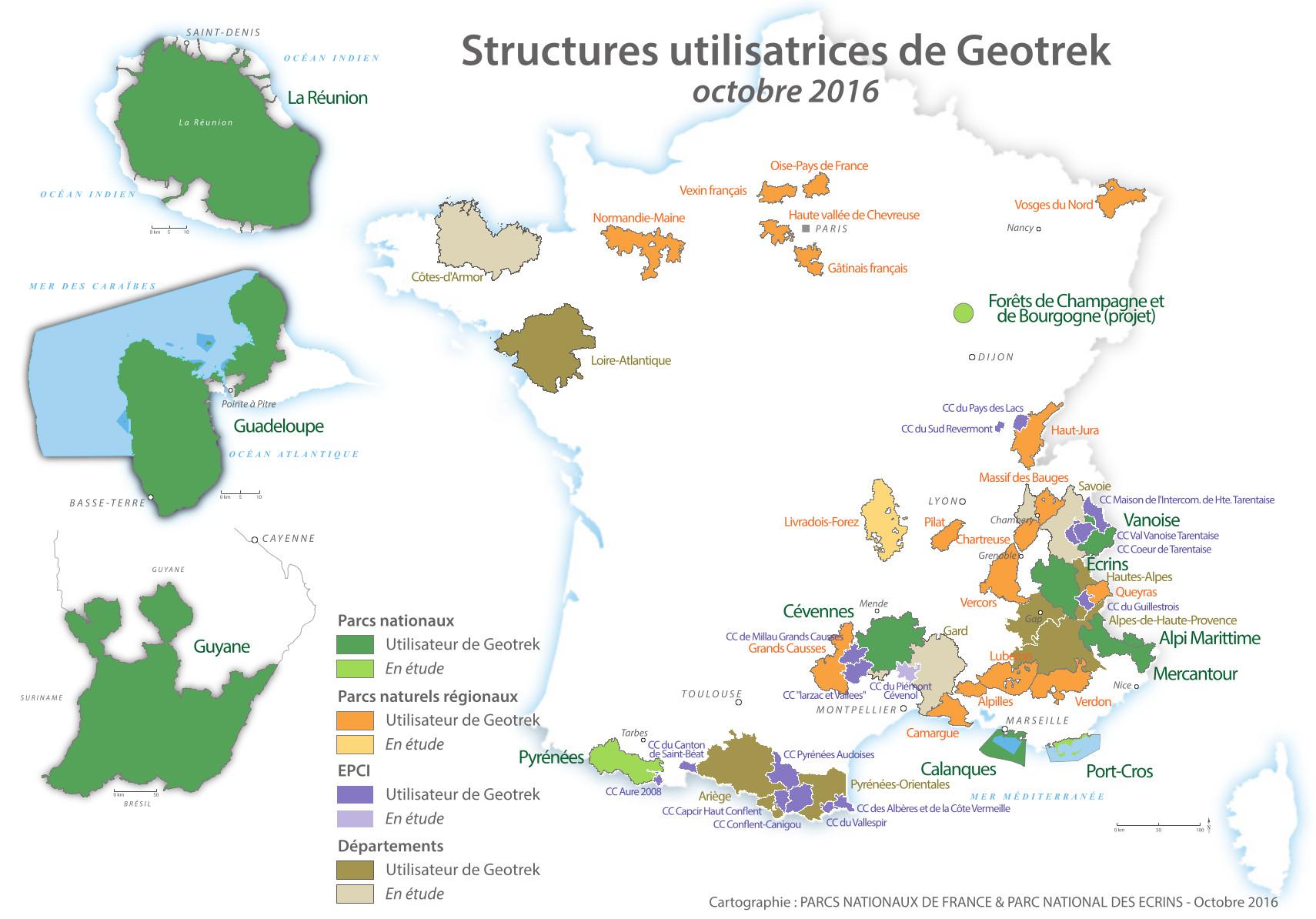 Geotrek L Avenement D Une Communaute D Utilisateurs Parc National Des Ecrins