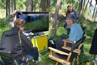 Bertrand-Galtier-directeur-du-Parc-national-des-Ecrins-en-seance-de-derushage-en-3D medium