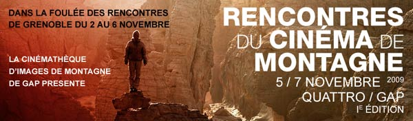 Rencontre cinema de montagne 2016 gap