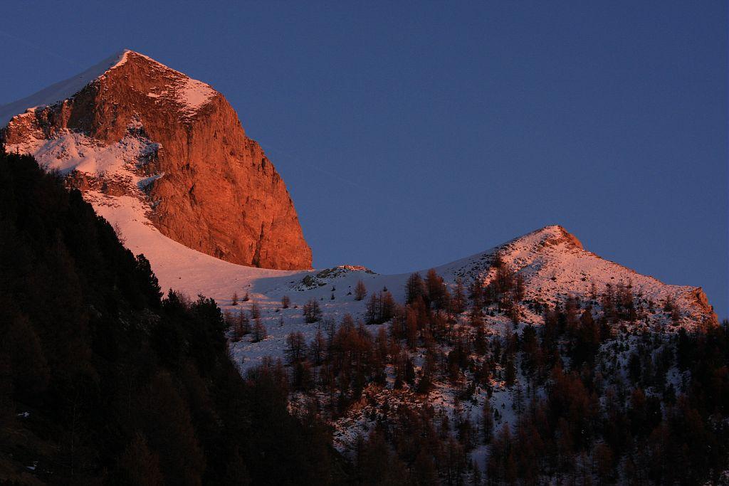 L'Arche et l'Aiglière depuis la Pinouse - © Marc Corail -Parc national des Ecrins