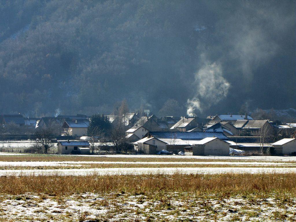 Village d'Entraigues © Christophe Albert - Parc national des Ecrins