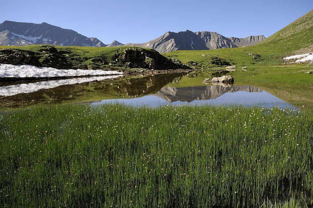 Lac de la Confrérie - Chargès ©MireilleCoulon - Parc national des Ecrins