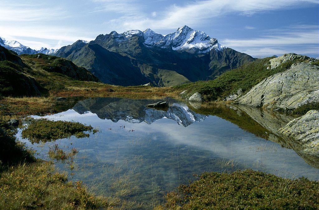 Aiguille de Morges depuis Tirière © Jean-Pierre Nicollet - Parc national des Ecrins