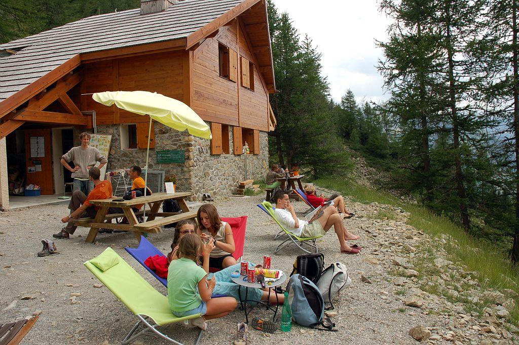 Au refuge des Souffles ©Dominique Vincent - Parc national des Ecrins
