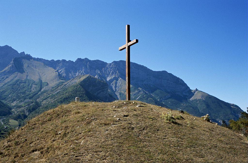 La Croix à Chauffayer © Olivier Warluzelle - Parc national des Ecrins