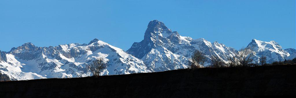 Terrasse de Chauffayer, Olan et sommet de la Cime du Vallon © Dominique Vincent  - Parc national des Ecrins