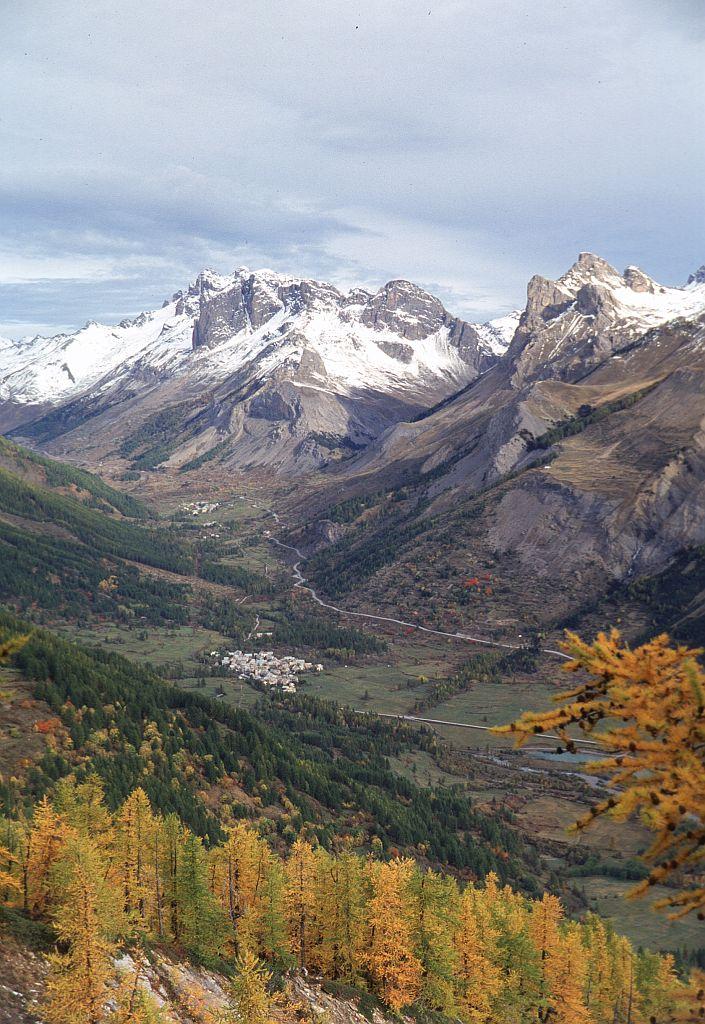 Le Casset automne © Bernard Nicollet - Parc national des Ecrins