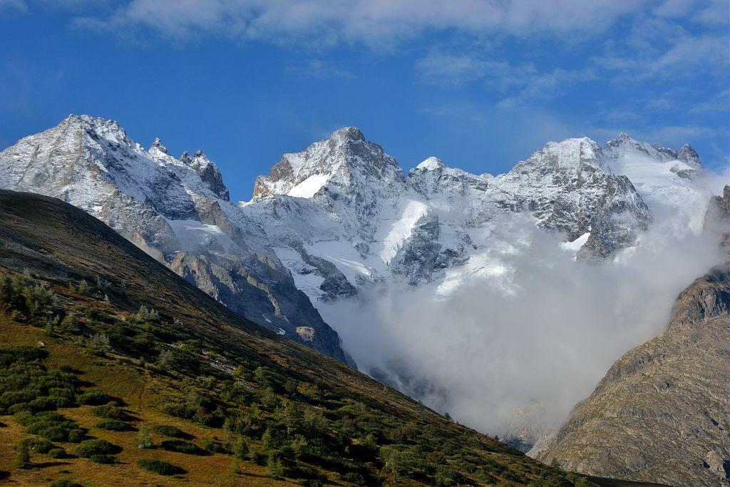 La Meige depuis le col du Lautaret - Villar d'Arène ©Mireille Coulon - Parc national des Ecrins