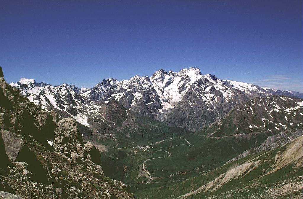Col du Lautaret et massif des Ecrins ©Parc national des Ecrins