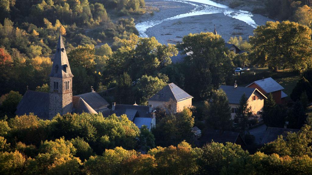 Saint Jean Saint Nicolas ©Marc Corail - Parc national des Ecrins
