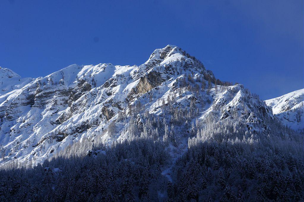 Pic Queyrel depuis le Sellon ©Imberdis Ludovic - Parc national des Ecrins