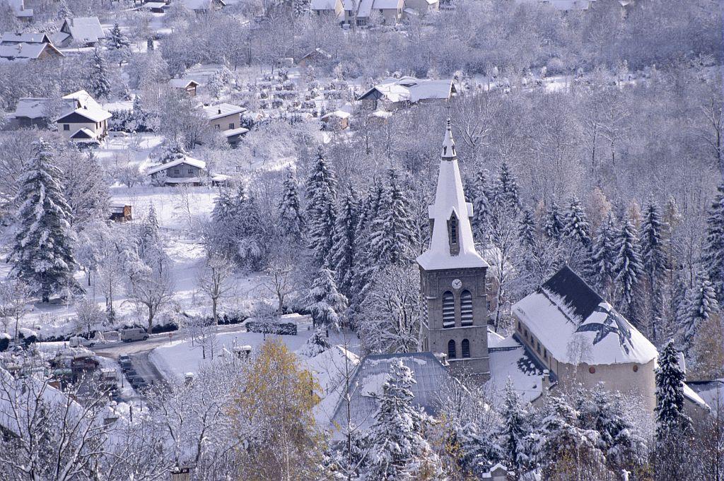 Bourg d'Oisans © Cyril Coursier - Parc national des Ecrins