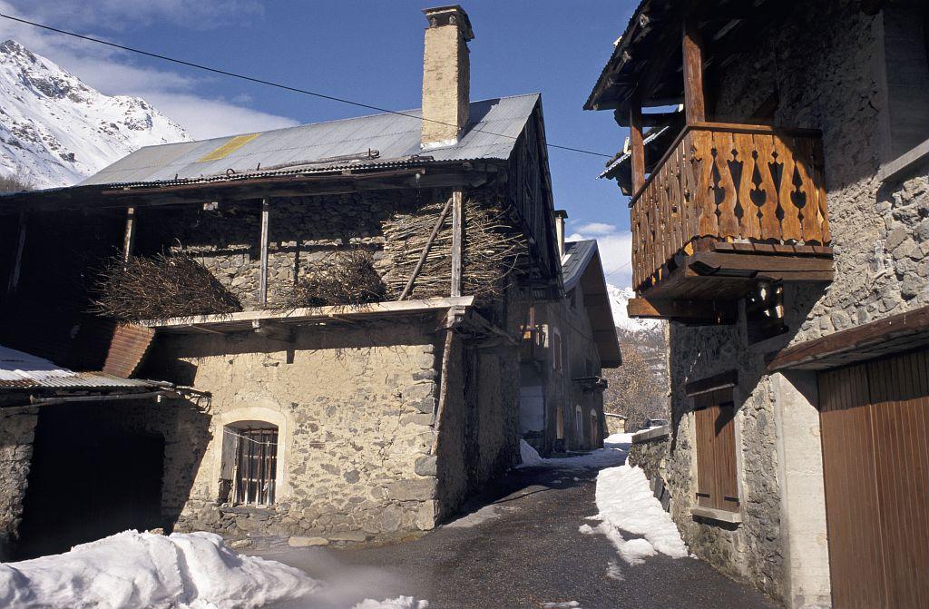 Village de Clavans © Daniel Roche - Parc national des Ecrins