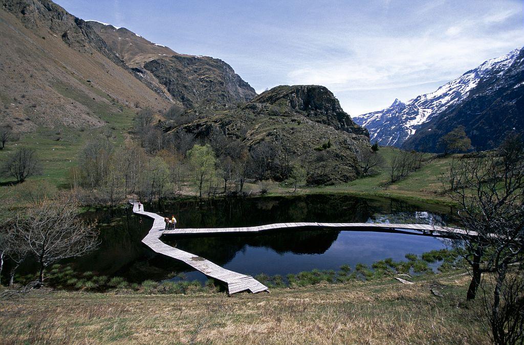 Le sentier de découverte des Clots, Mizoën © Cyril Coursier - Parc national des Ecrins