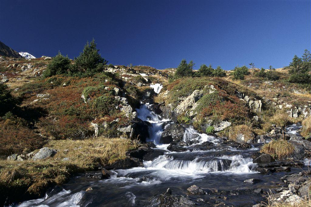 Le torrent du plateau du Fourchu © Denis Fiat - Parc national des Ecrins