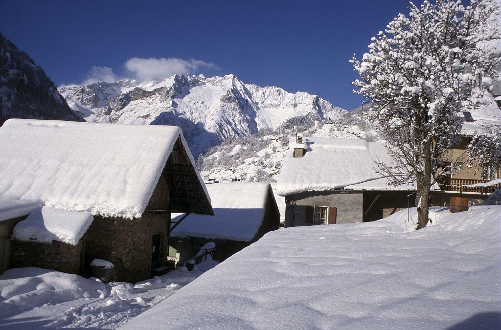 Hameau de la Venosc ©Brun André - Parc national des Ecrins
