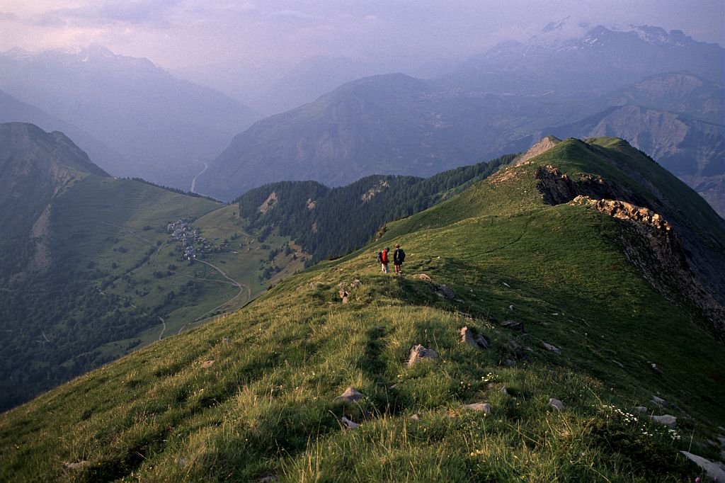 Col du Salude ©Daniel Roche - Parc national des Ecrins