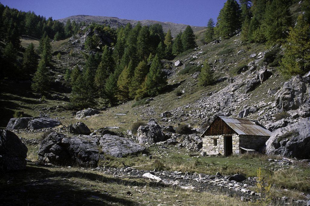 Cabane de Clot Saint Jean - Champcella © Marie-Geneviève Nicolas - Parc national des Ecrins