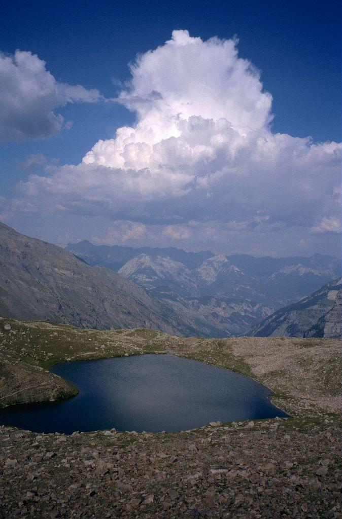 Le lac Palluel ©Manuel Meester - Parc national des Ecrins