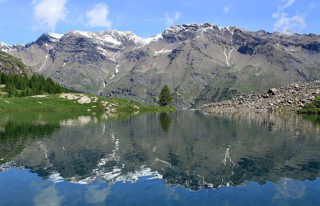 Le lac du Fangeas ©Jean-PhilippeTelmon - Parc national des Ecrins