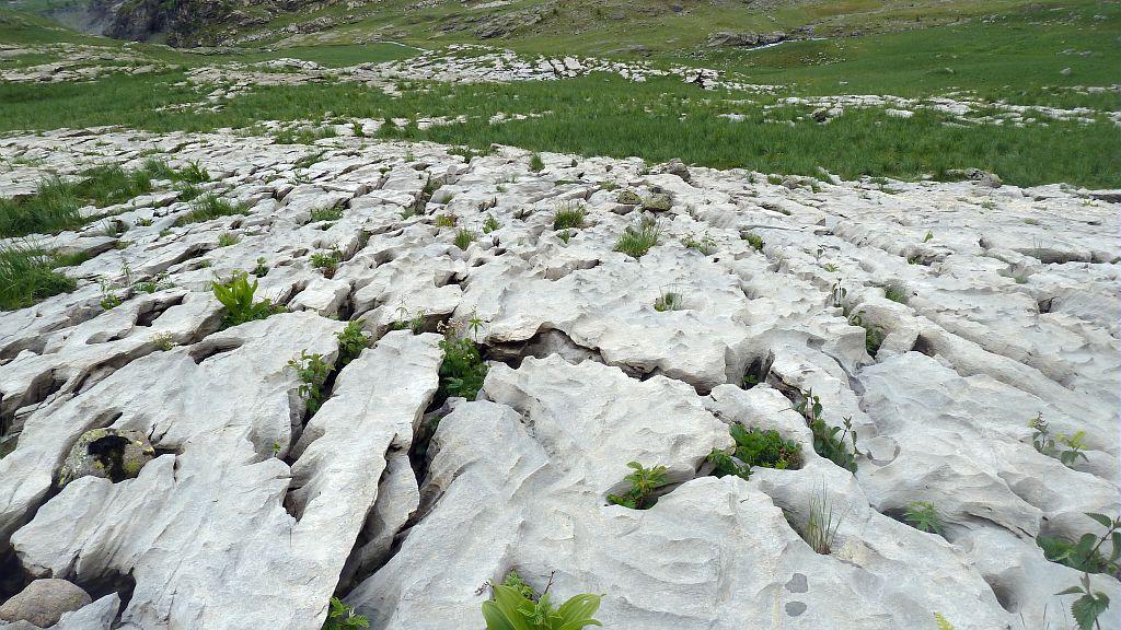 Lapiaz de Faravel ©Blandine Delenatte - Parc national des Ecrins
