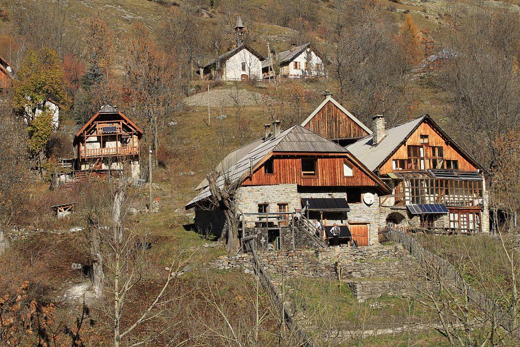Village de Dormillouse ©Jean-Philippe Telmon - Parc national des Ecrins