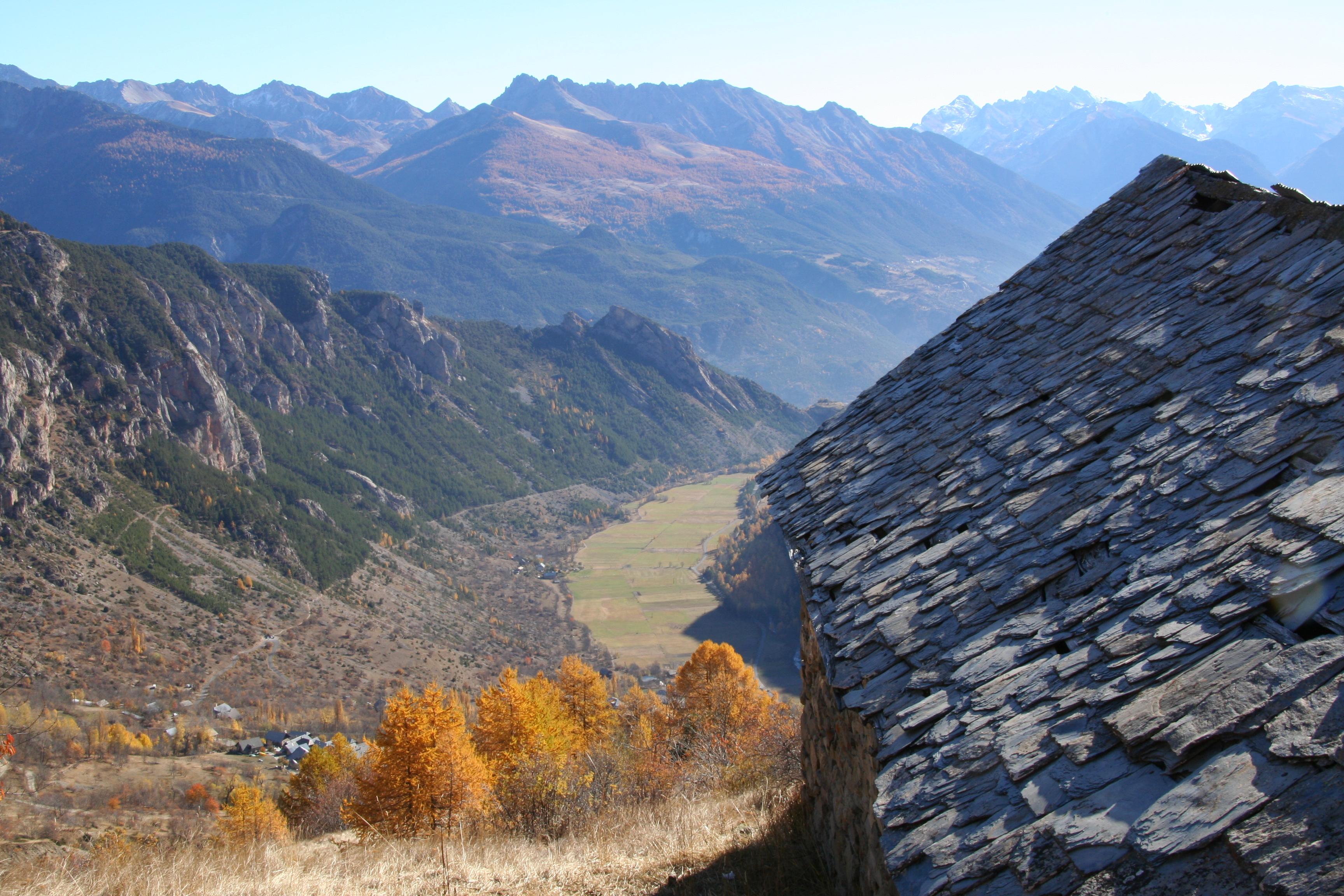 Sentier des alpages - Freissinières ©Jean-Philippe Telmon - Parc national des Ecrins