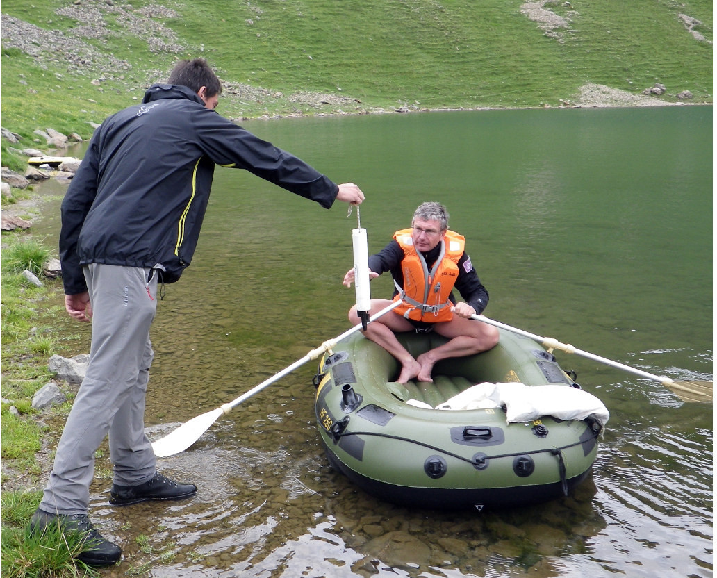 suivi lacs © Parc national des Ecrins