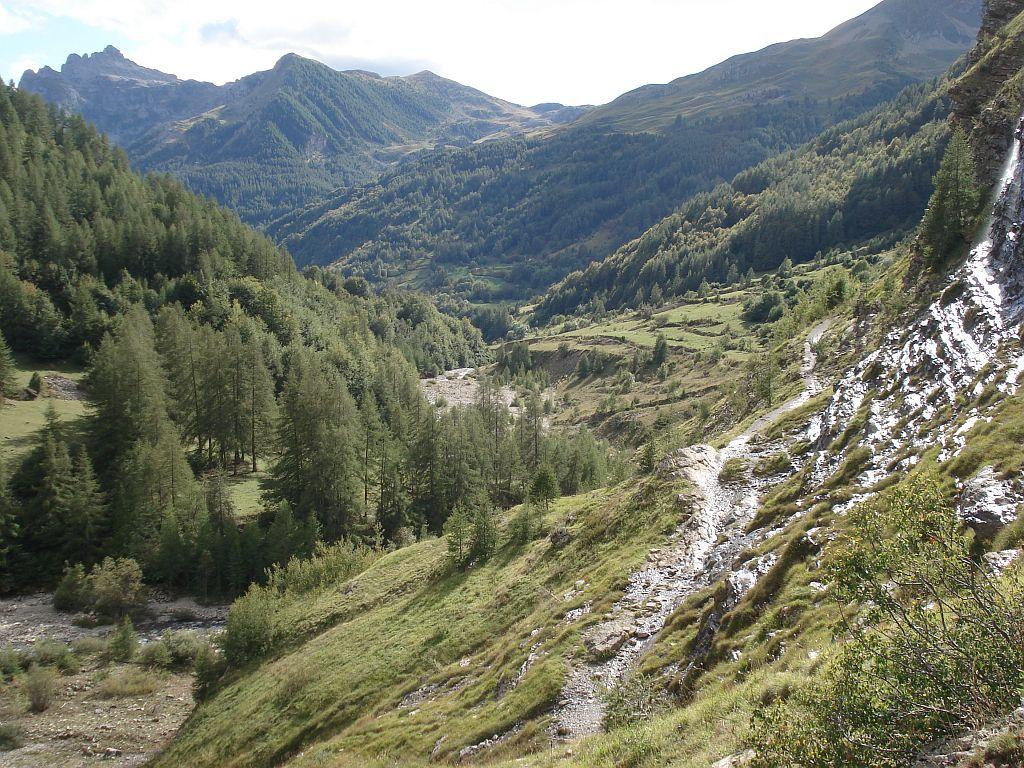 Sentier de la Règue - Reallon - © S-D'Houwt - Parc national des Ecrins