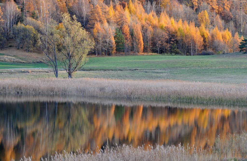 Le Lac de Siguret dans l'Embrunais - © M.Coulon - Parc national des Ecrins