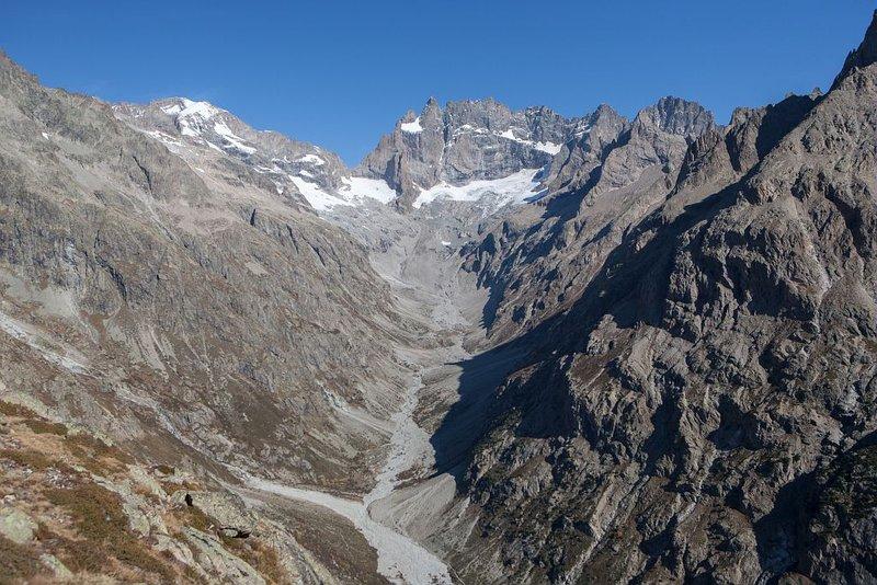 La Meije, face sud - © P.Saulay - Parc national des Écrins