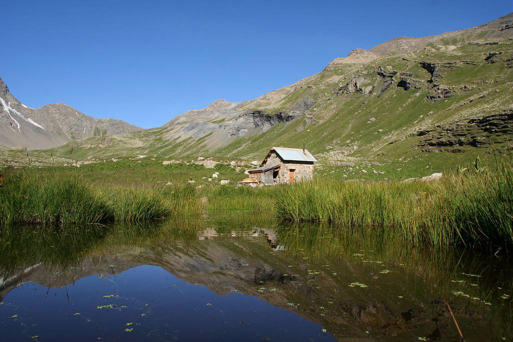Grande Cabane, Pas de la Cavalz, Pointe des Rognoux, Pas du Loup © PNE / Telmon Jean-Philippe