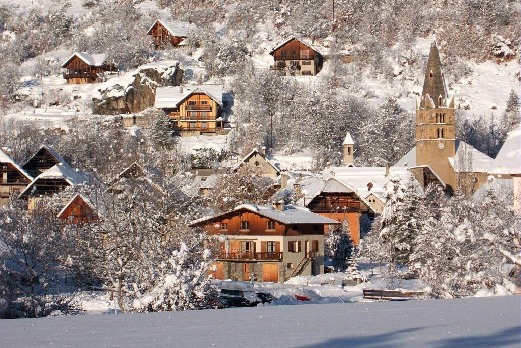 Vallouise sous la neige © PNE / Maillet Thierry