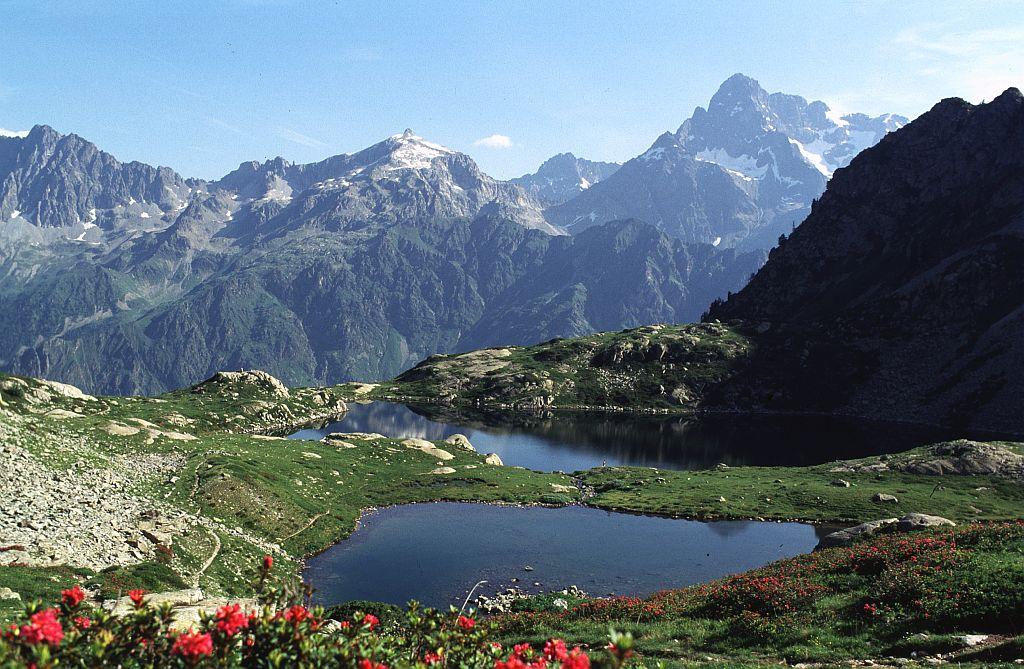 Le lac de Pétarel © Daniel Roche - Parc national des Ecrins