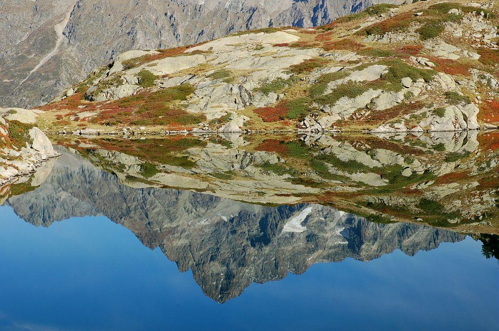 Lac de Pétarel © Dominique Vincent - Parc national des Ecrins