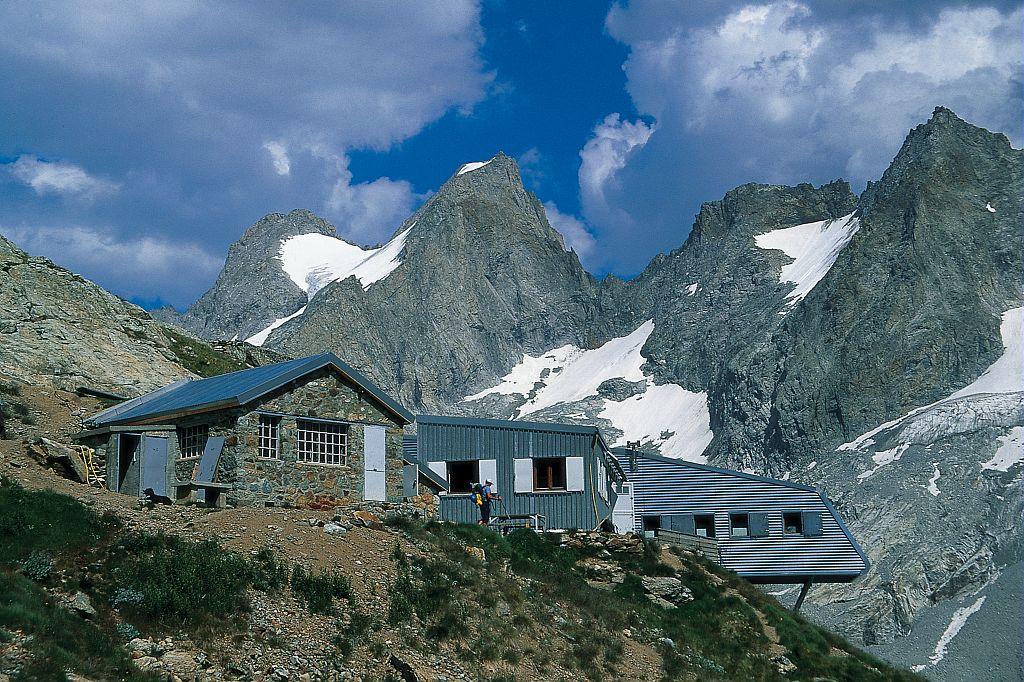 Refuge de la Selle et Têtes du Replat © Serge Derivaz - Parc national des Ecrins