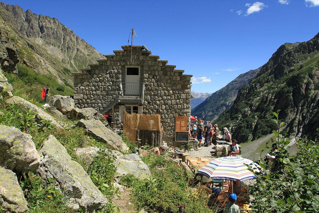 Refuge des Bans © Jean-Philippe Telmon - Parc national des Ecrins