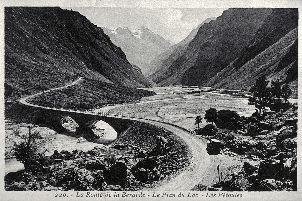 Route de la Bérarde - Le plan du Lac - Les Fétoules - Lucien Tronc (collection)