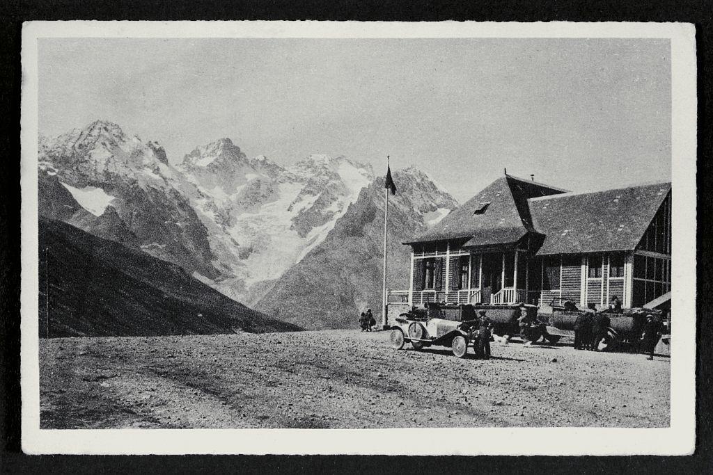 Le col du Lautaret et la Meije - Collection Eric Vannard