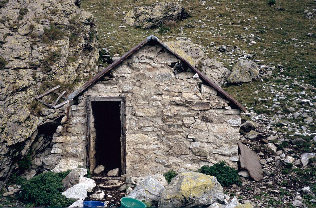 La cabane de la Maye, Valjouffrey © Manuel Meester - Parc national des Ecrins