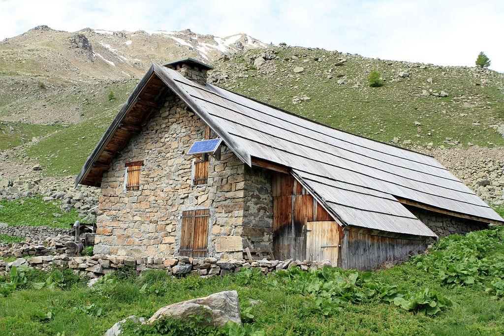 Cabane Faravel © Jean-Philippe Telmon - Parc national des Ecrins