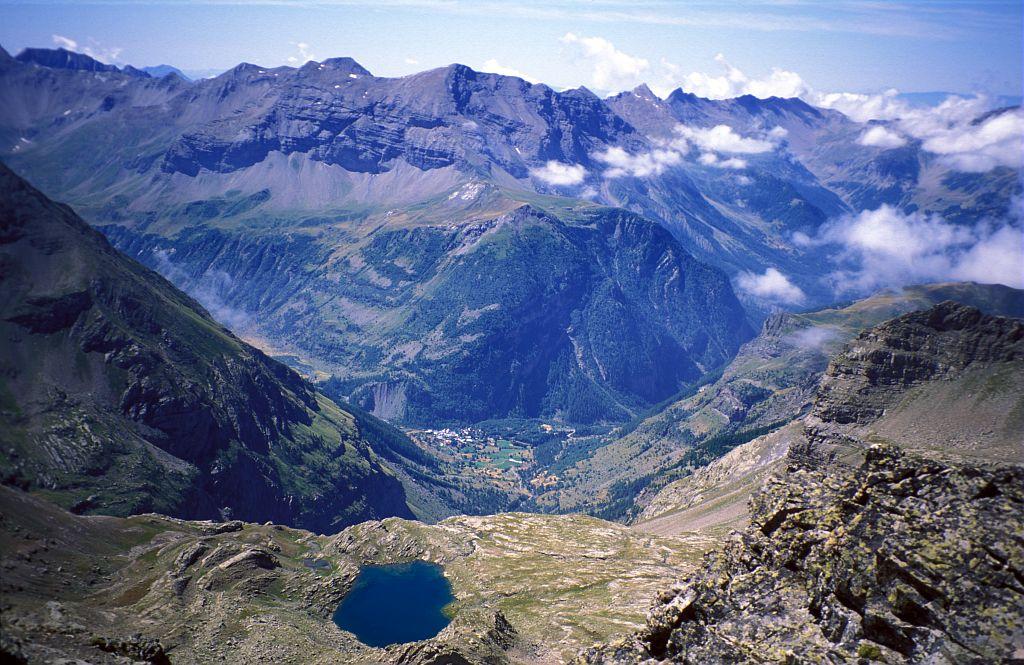 Lac des Pisses © Michel Francou - Parc national des Ecrins