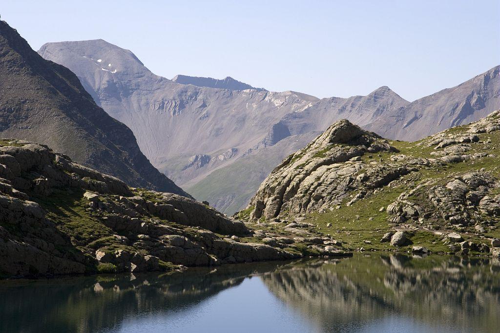 Lac des Pisses © Marc Corail - Parc national des Ecrins