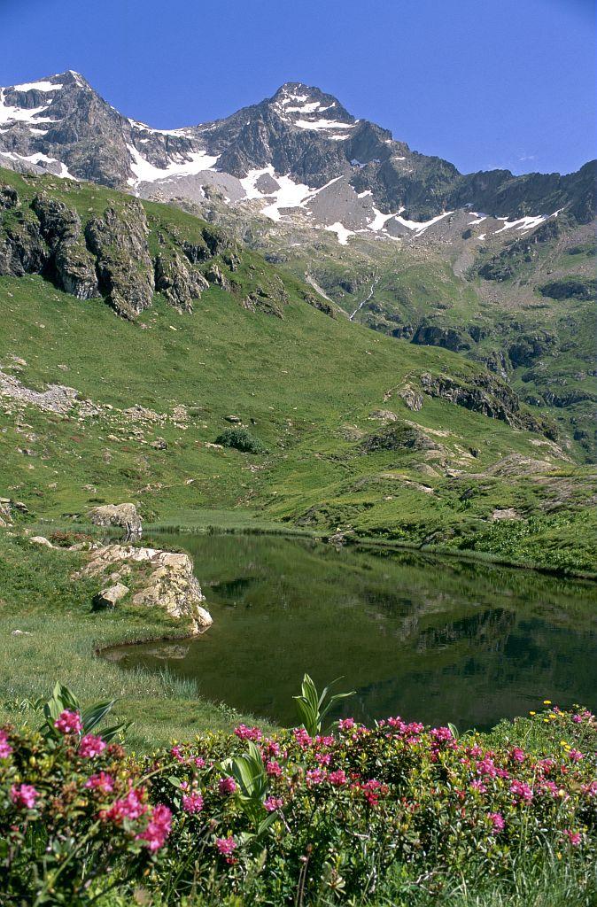 Le lac du Lauzon © Parc national des Ecrins