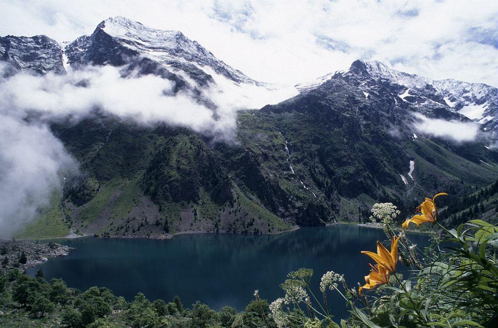 Le lac du Lauvitel © Denis Fiat - Parc national des Ecrins