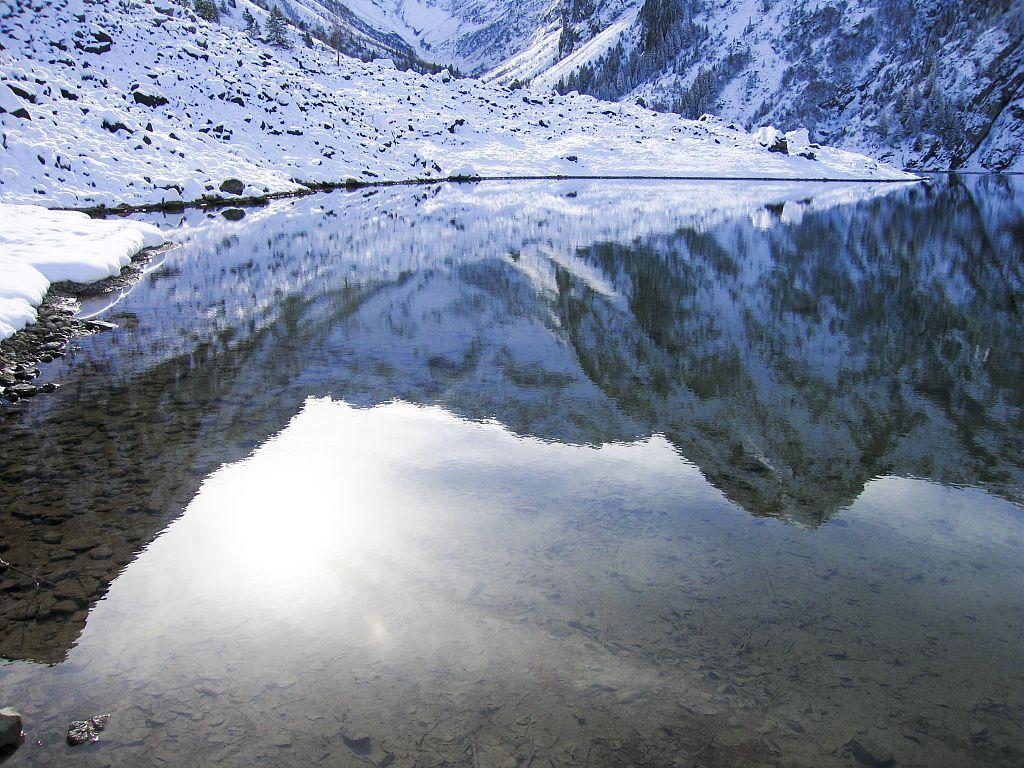 Le lac du Lauvitel © Cyril Coursier - Parc national des Ecrins