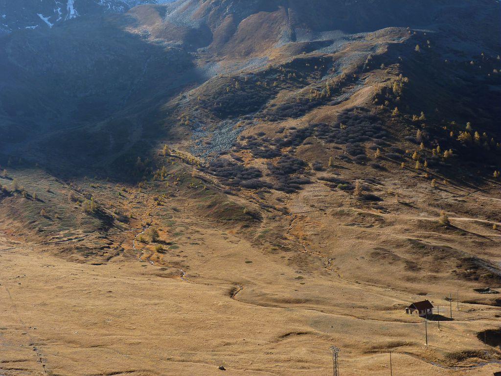 Démantèlement des téléskis au col du Lautaret - réserve naturelle de Combeynot - Villar d'Arène © Hélène Quellier - Parc national des Ecrins