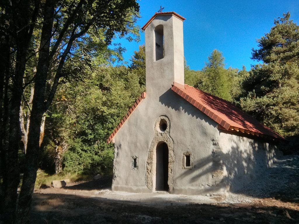 Chapelle Buissard - © Yves Baret -Parc national des Écrins