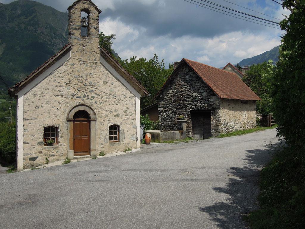 Chapelle et four Saint Jacques - 2014 - © F-Sabatier -Parc national des Écrins