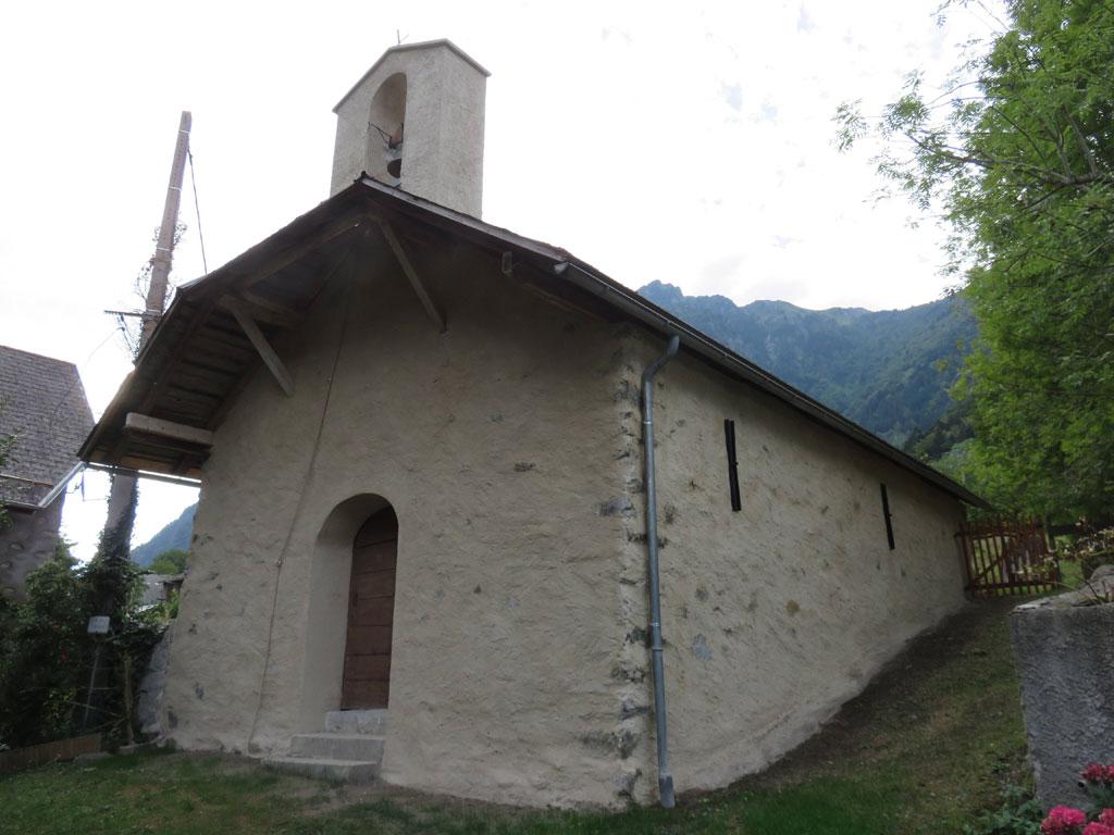 Chapelle Gragnolet - Entraigues - © M.Pottier - Parc national des Écrins
